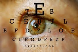 thorough eye exam by optometrist