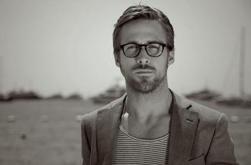 Ryan Gosling wearing Barton Perreira glasses frame