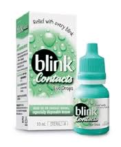 blink artificial tears for contacts
