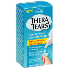 Thera tears for contact lenses