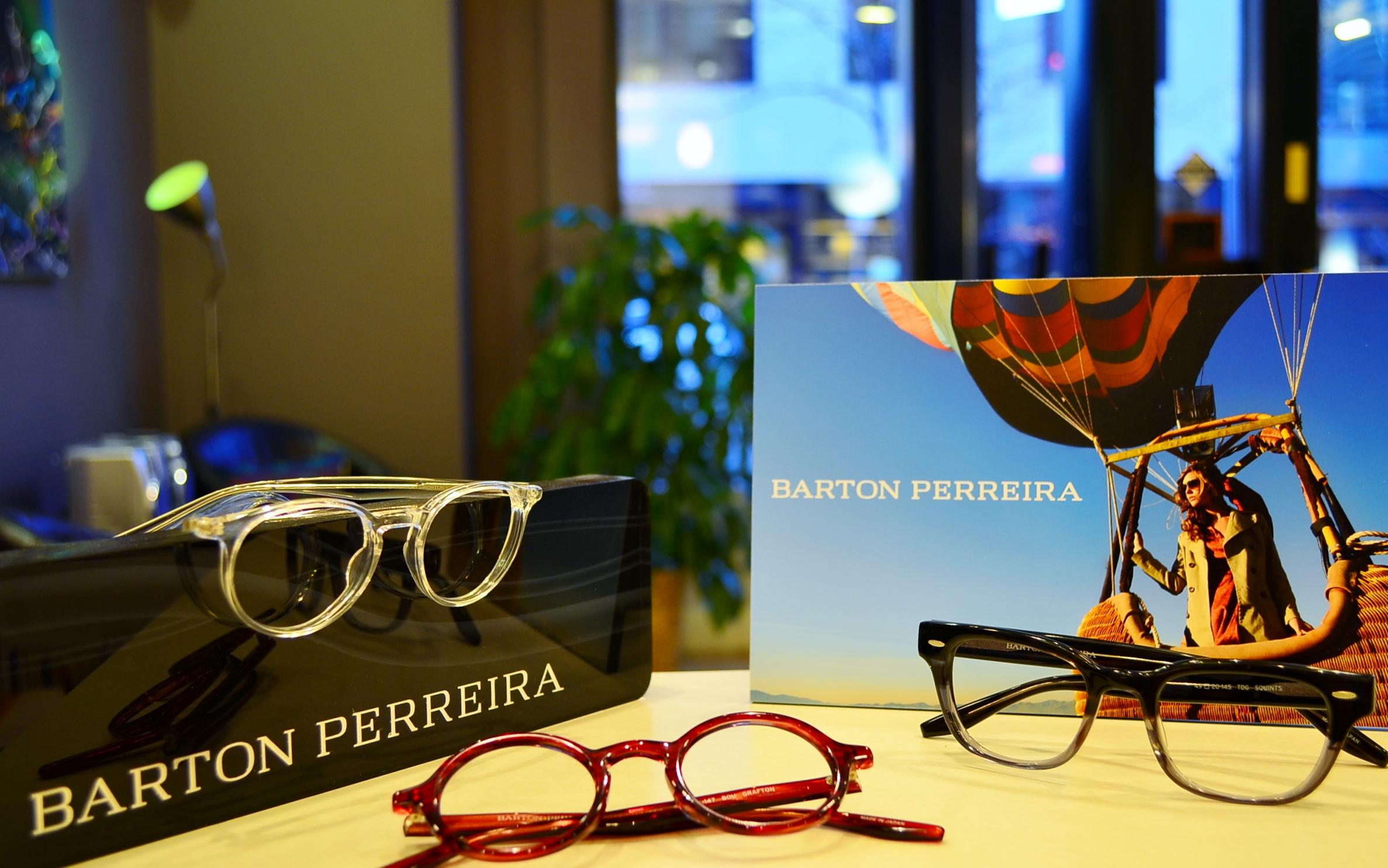 picture of barton perreira eyeglasses