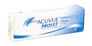Picture of 1 day moist contact lenses